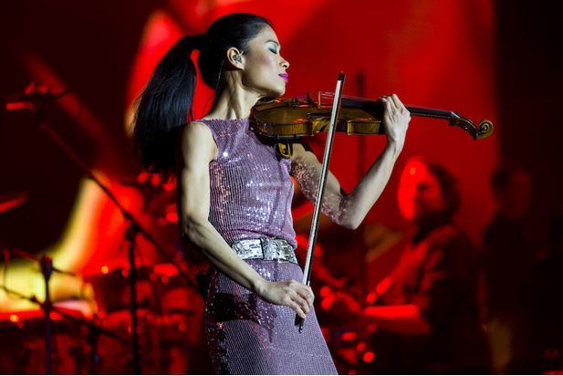 Vanessa-Mae will play at Crocus City Hall in Moscow